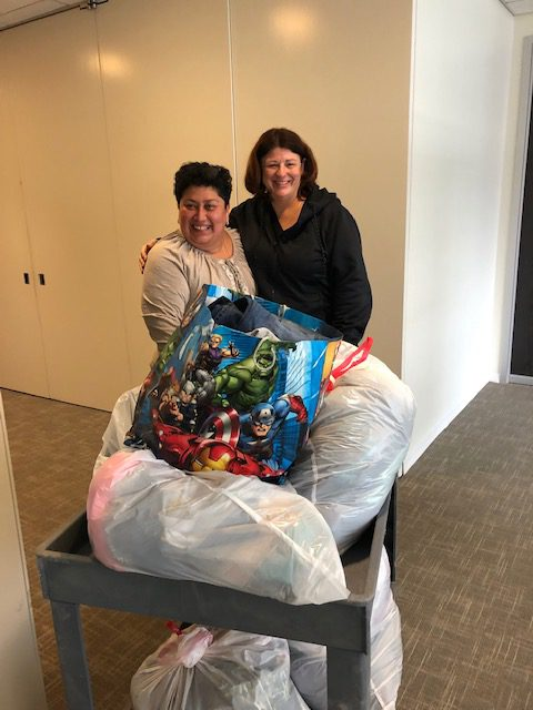 This is Carr Maloney's eighth year participating in the drive. Thanks to Gifts for the Homeless for organizing this much-needed and terrific event!